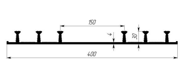 ОП-400П(П) для хол. швов бетон-я