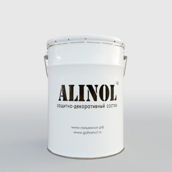 Металлополимерный состав Алинол евроведро 18 кг