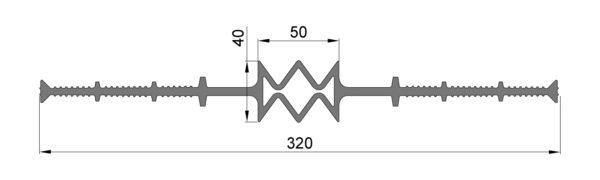 ЦД-320К50 центральные деформ-е