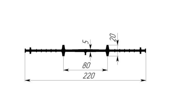 ЦР-220Р(Р) для хол. швов бетон-я