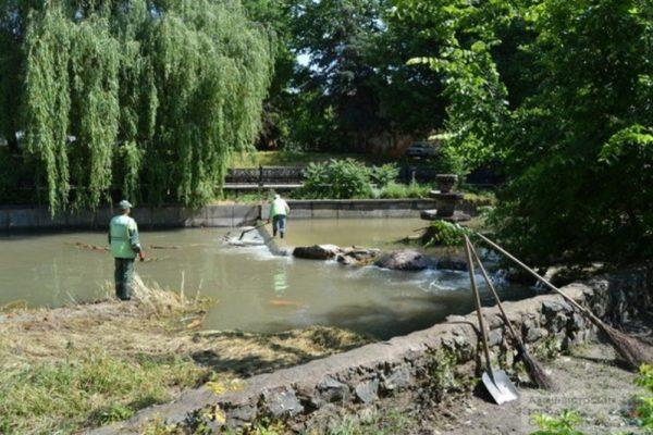 Полная очистка русла реки Салгир в столице Крыма оценена в 104 миллиона рублей