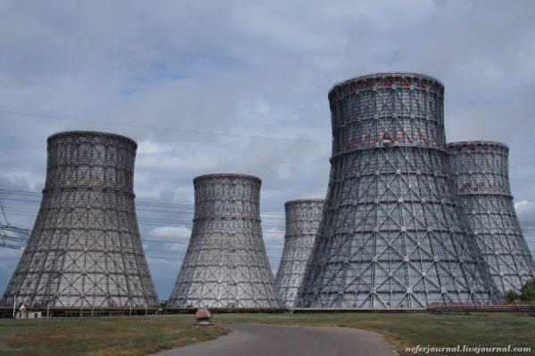 Гидроизоляция и восстановление бассейна башенной градирнии